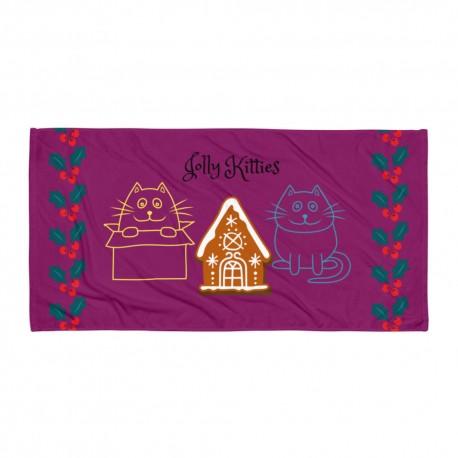 Jolly Kitties Towel