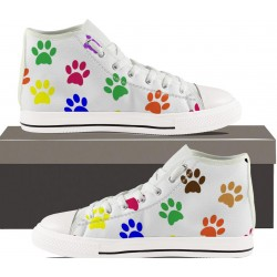 Paw Prints Women's Hightop