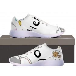 Hello Womens Sneakers