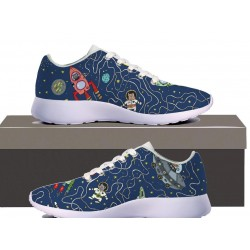 Outerspace Womens Sneakers
