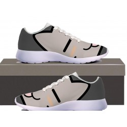 Smiling kitty Womens Sneakers
