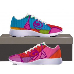 Colorful Cat Womens Sneakers