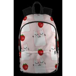 Strawberries and Kitties Backpack