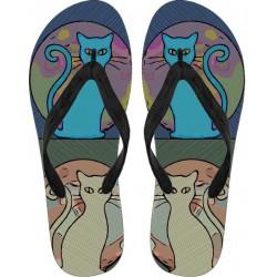 kitties Flip Flops