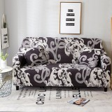 1/2/3/4-seater Arm Chair Cover Sofa Slipcover For Living Room Stretch Sofa Covers Furniture Protector Polyester Couch Cover