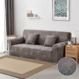 Stretch Slipcovers Sectional Elastic Stretch Sofa Cover for Living Room Couch Cover L shape Armchair Cover Single/Two/Three seat