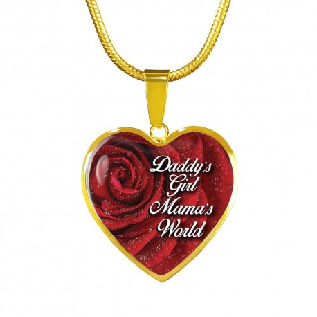 Daddy's Girl, Mama's World - Gold Heart