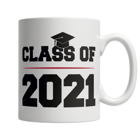 Class of 2021 - White Mug