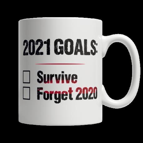 2021 Goals - White Mug