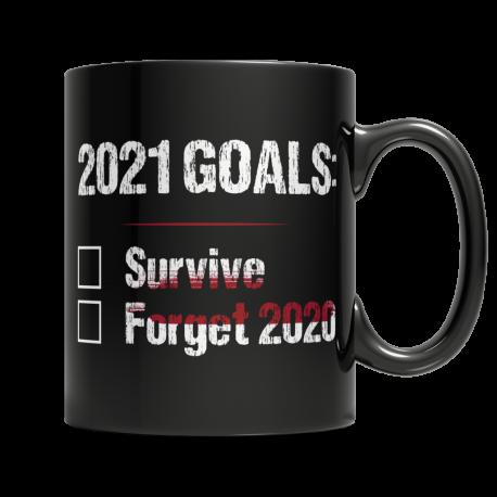2021 Goals - Black Mug