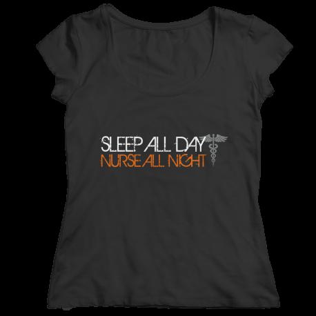 Sleep All Day Nurses All Night