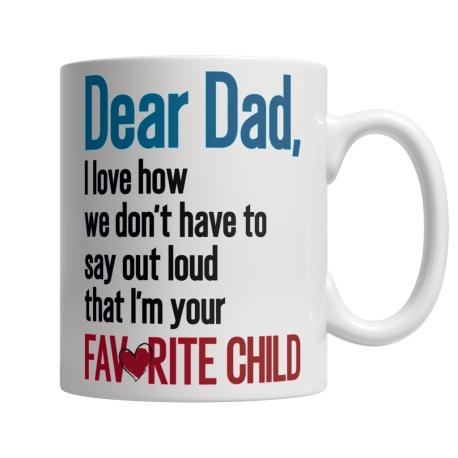 We Don't Have To Say Out Loud - White Mug