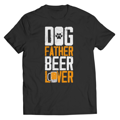 Dog Father Beer Lover