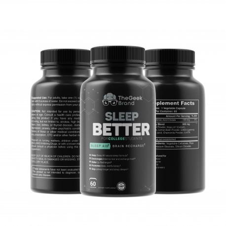 Sleep Better - Deep Sleep + Brain Recharge!