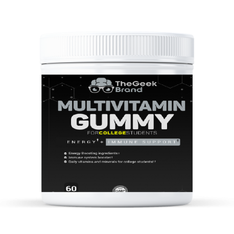 MultiVitamin Gummy - Increases Energy + Supports Immune System!