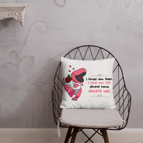 GrooveZilla Love Pillow