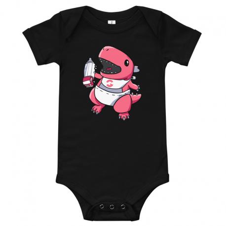 GrooveZilla Baby Short-Sleeve Onesie Bodysuit