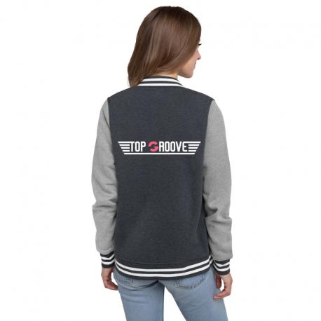 Women's Top Groove Letterman Jacket
