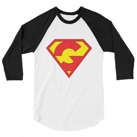 GrooveMan / GrooveGirl Unisex 3/4 Sleeve Raglan Shirt