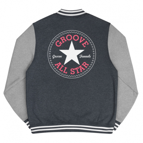 Men's Groove All Star Letterman Jacket