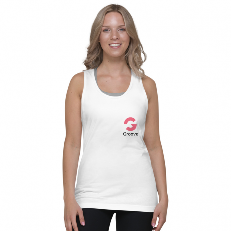 Groove Logo Tank Top Women Light