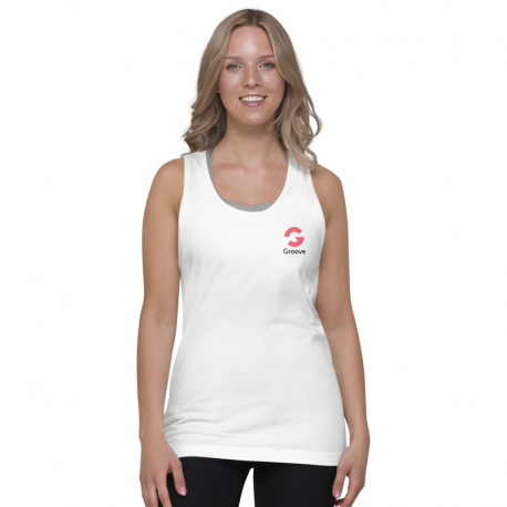 G Logo Mini Tank Top Women Light
