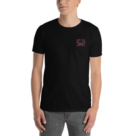 This Guy Loves to Groove Short-Sleeve Dark T-Shirt