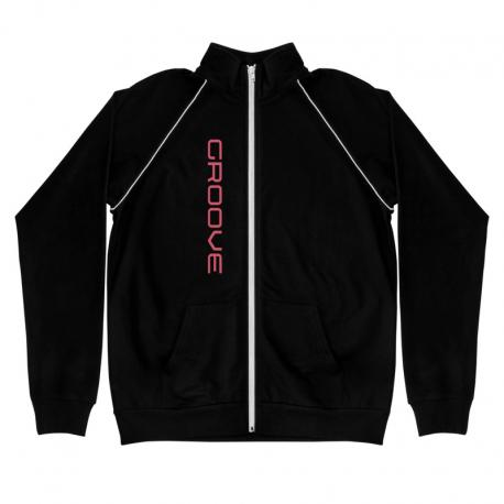 Groove Men's Piped Fleece Jacket