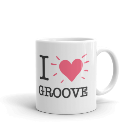 I Love Groove v1 Mug