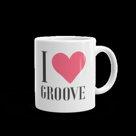 I Love Groove Mug