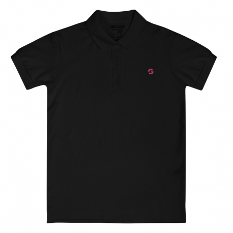 Groove G Embroidered Women's Polo Shirt