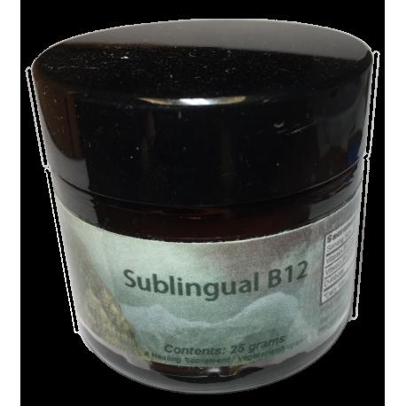 Sublingual B12