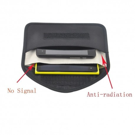 """EMF Shielding Pouch 7"""" x 4"""" Cell Phone"""