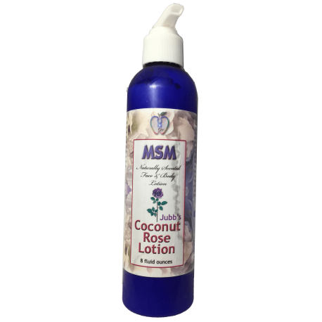 Coconut Rose MSM Lotion