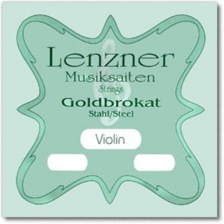 Lenzner Goldbrokat Violin E string (e
