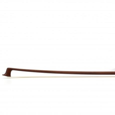 Germany Dorfler Violin Bow Pernambuco Wood No.20 GENUINE SILVER TRIMMING