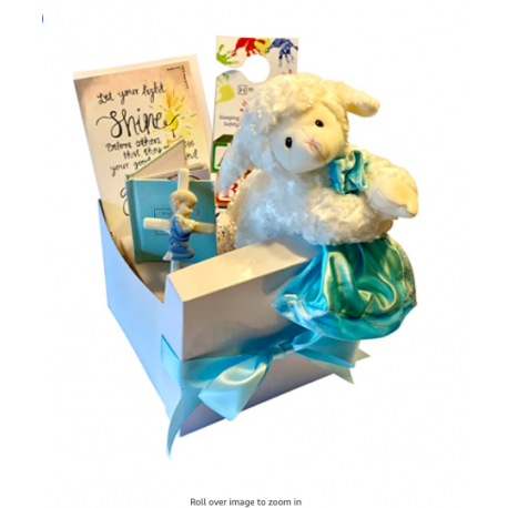 Baptism Gifts for Boys, Complete Baptism Gift Set for Baby Boy Christening, Boy Baby Baptismal Gifts and Christening Gifts