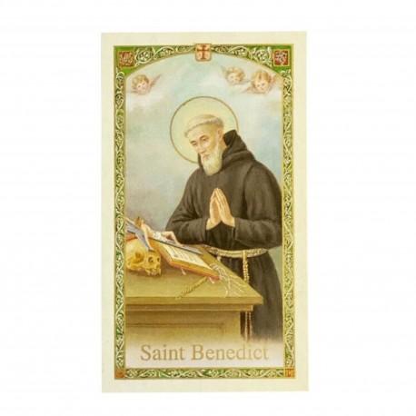St. Benedict Catholic or Christian Prayer / Holy Card