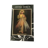 Divine Mercy Chaplet Pamphlet Divine Mercy Prayer Card and Rosary Beads Gift Set, Catholic Rosary Chaplet of Divine Mercy Prayer Card and Divine Mercy Booklet in Boxed Set