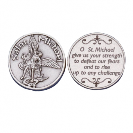 St. Michael Pocket Token Coin