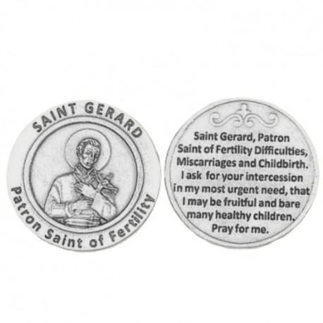 St. Gerard Pocket Token Coin