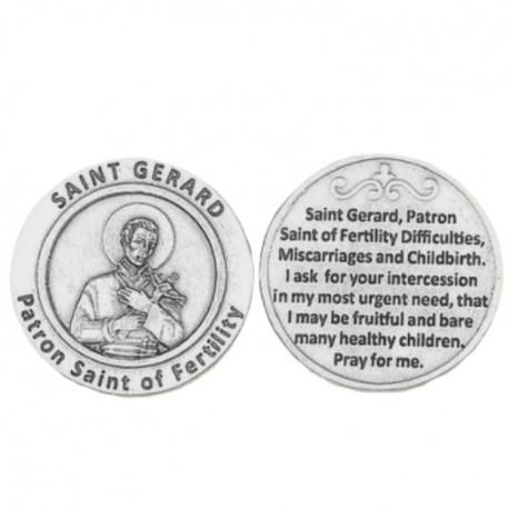 St. Gerard Pocket Token Coin