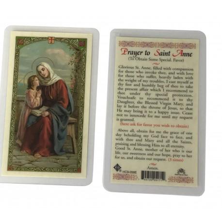 St. Anne Prayer Card