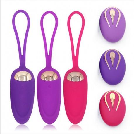 Wireless Remote Control Vibrator Bullet Eggs Vibrator