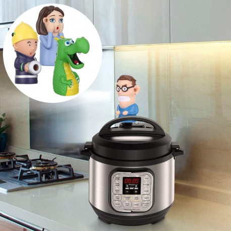 Playful Steam Diverter for Electric Pressure Cookers