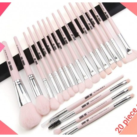 In Style Pieces™   Professional Long Lasting Makeup Brush Set 12  to 20 pcs.