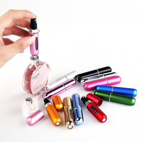In Style Pieces™   Bottom-Pump Refillable Perfume Spray Atomizer For Travel. 5ml.