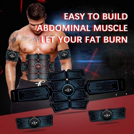 In Style Pieces™   Electronic Passive Full Body Muscle Stimulator   At Home Gym