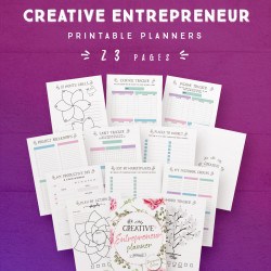 Creative Entrepreneur Planner [23 Pages]