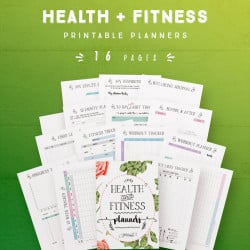 Health and Fitness Planner [16 Pages]